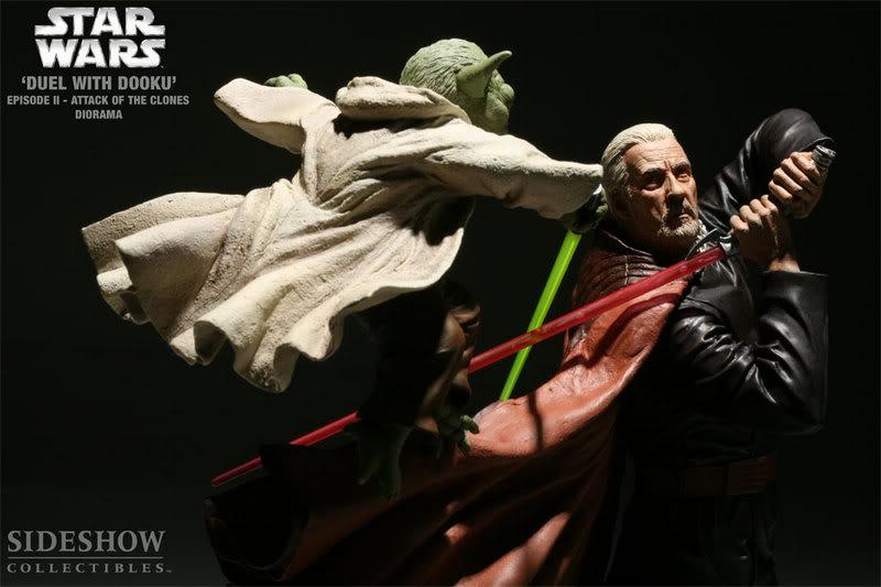 Diorama Yoda vs Count Dooku ! 2203_press08-001