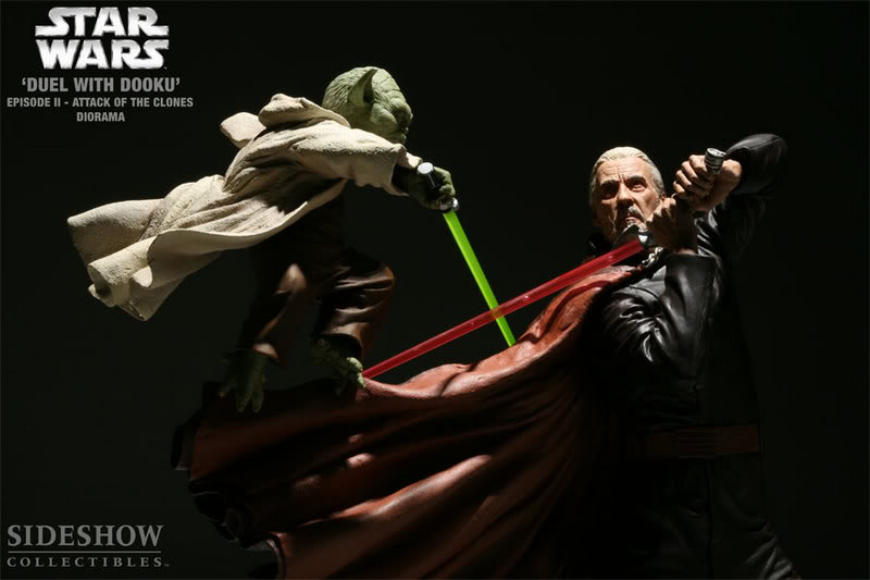 Diorama Yoda vs Count Dooku ! 2203_press10-001