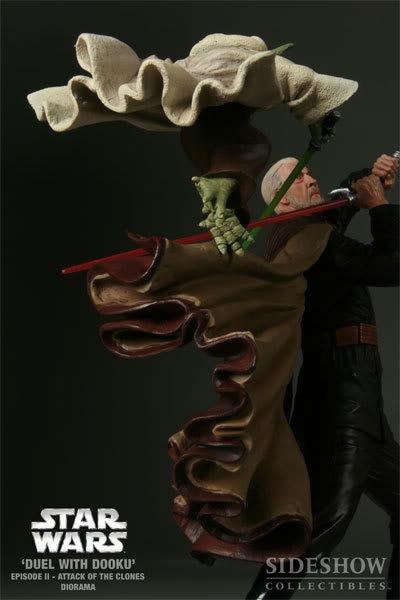 Diorama Yoda vs Count Dooku ! 2203_press11-001