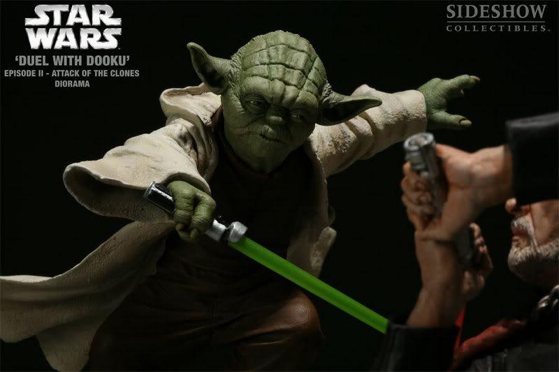 Diorama Yoda vs Count Dooku ! 2203_press12-001