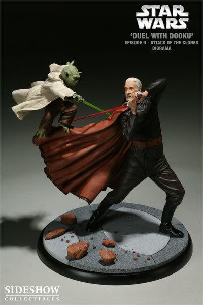 Diorama Yoda vs Count Dooku ! 2203_press13-001