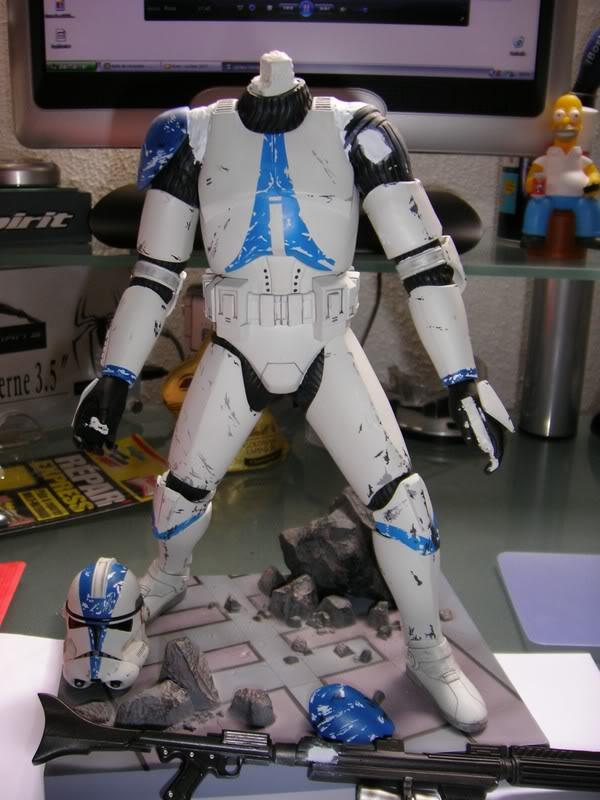 Custom Clone Trooper Kotobukiya en Fox Trooper 4
