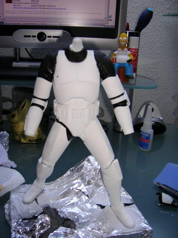Custom Clone Trooper Kotobukiya en Fox Trooper 6