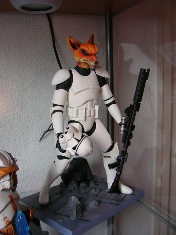 Custom Clone Trooper Kotobukiya en Fox Trooper Photo1073