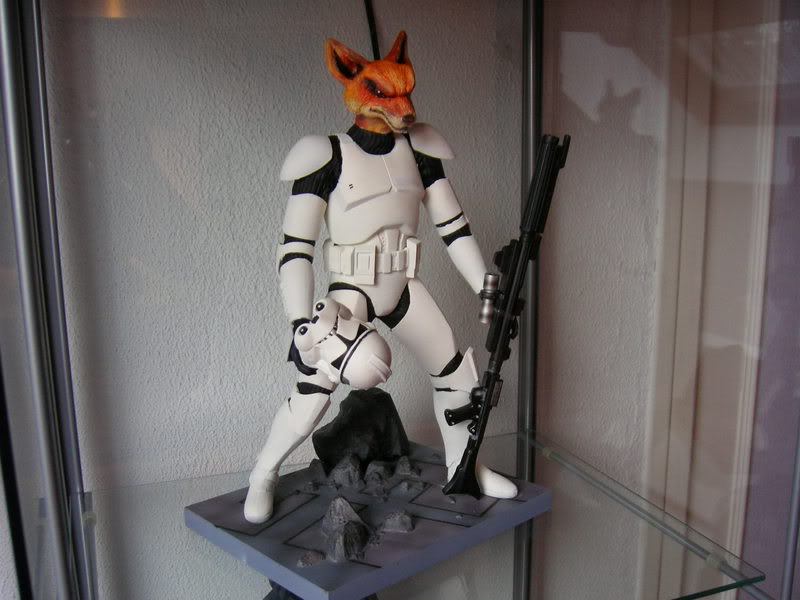 Custom Clone Trooper Kotobukiya en Fox Trooper Photo1077