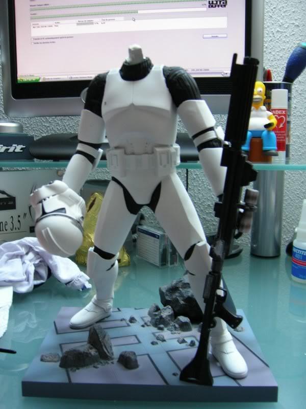 Custom Clone Trooper Kotobukiya en Fox Trooper Photo319