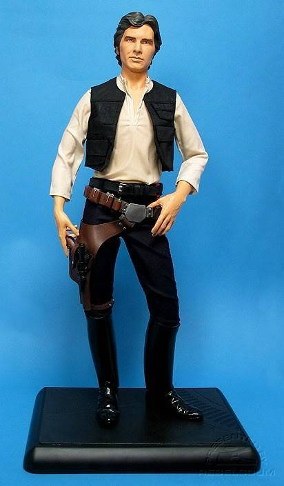 Han Solo 1/4 premium SChan34