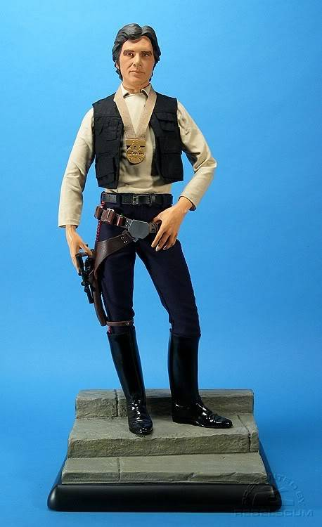 Han Solo 1/4 premium exclusive edition SSCexHS_0001