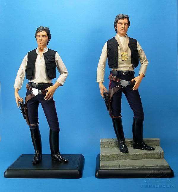 Han Solo 1/4 premium exclusive edition SSCexHS_0015