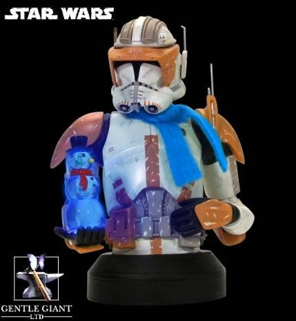 Commander Cody Mini bust Holiday exclu Gentle20Giant20Star20Wars20Holiday2