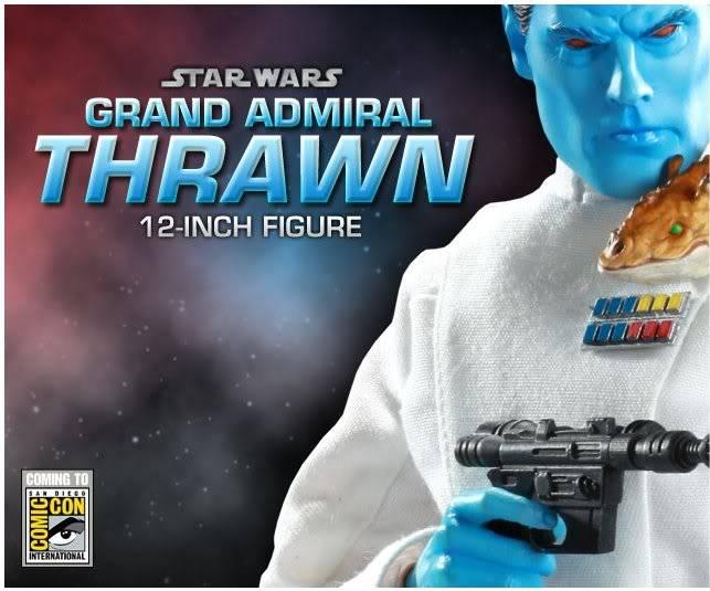 Grand Admiral Thrawn 12 inch figure Grand