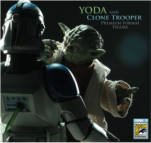 Yoda and Clone Trooper Premium format ! Iyoda