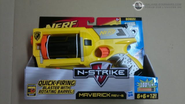 Nerf Maverick N-Strike custom 31072011130copie