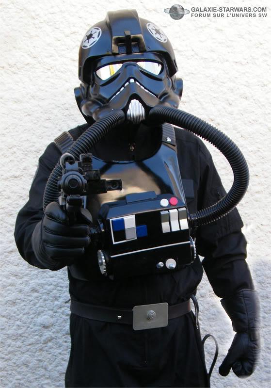 Pilot Tie Fighter costume prop Image2copie