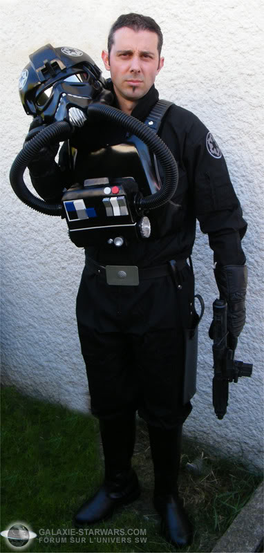 Pilot Tie Fighter costume prop Image5copie