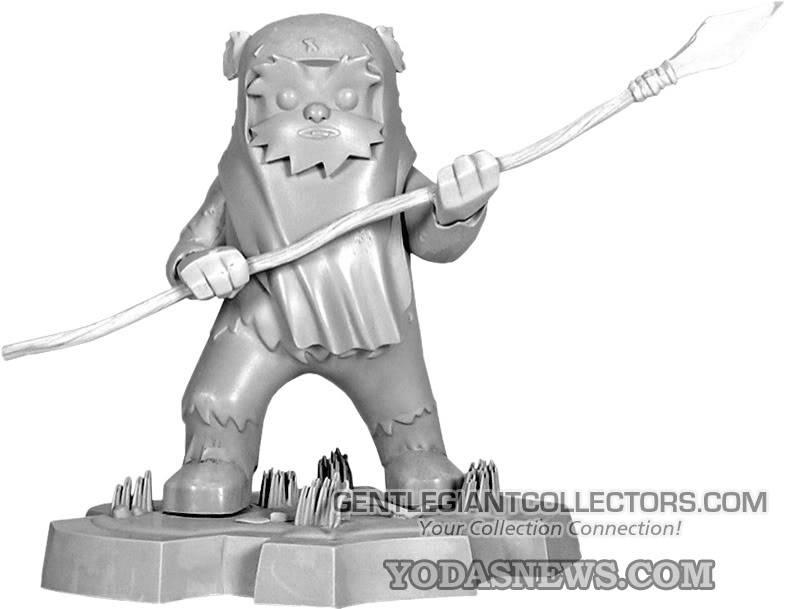 Wicket Animated Statue Maquette WicketMaquette