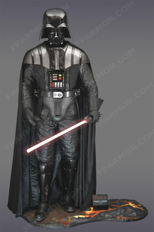 Life Size by FPArmor - Boba Fett - Darth Vader ... A