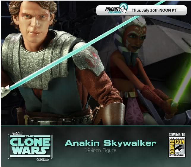 Anakin Skywalker - Clone Wars 12 inch figure Anakin