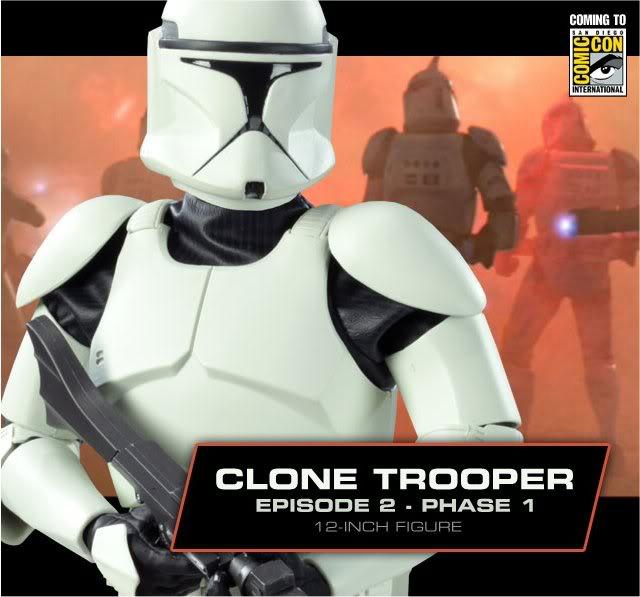 Clone Trooper Episode 2-Phase 1 12 inch Clone
