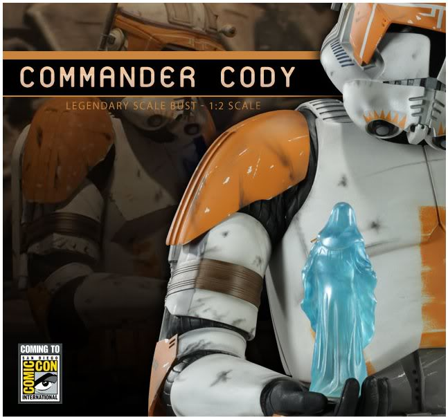 Commander Cody Legendary Scale Bust 1:2 Clonecody