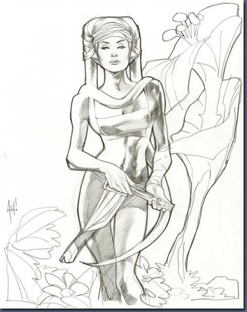Aayla Comiquette Character Modeling Fig01_character_sketch_concept