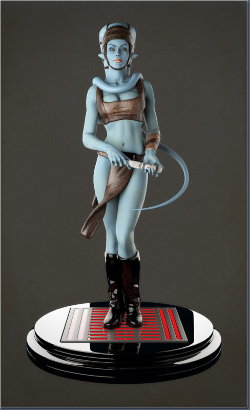 Aayla Comiquette Character Modeling Fig14_final_render
