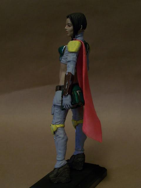 Mandalorian Female statue by David Johnson 100_3655