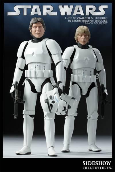 12 inch Luke Skywalker et Han Solo in Stormtrooper exclu 2179_press01-001