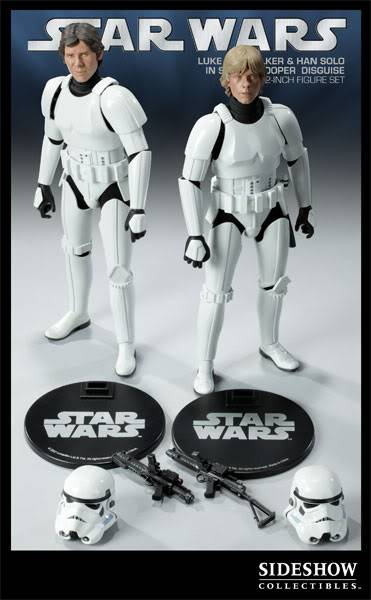 12 inch Luke Skywalker et Han Solo in Stormtrooper exclu 2179_press13-001