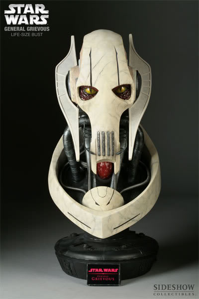 The General Grievous Life-Size Bust 2945_press01-001