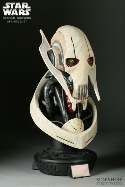 The General Grievous Life-Size Bust 2945_press03-001-1