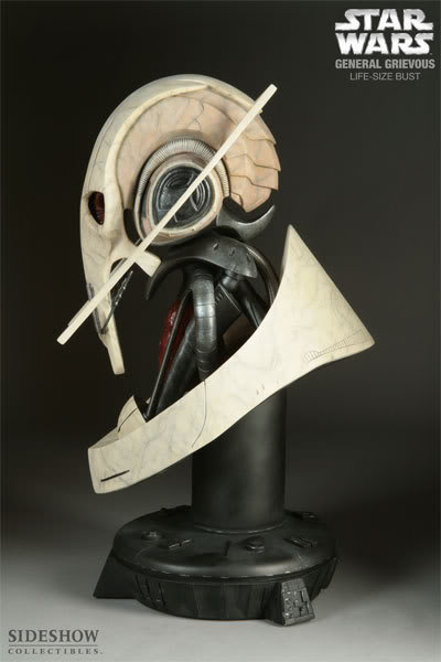 The General Grievous Life-Size Bust 2945_press04-001