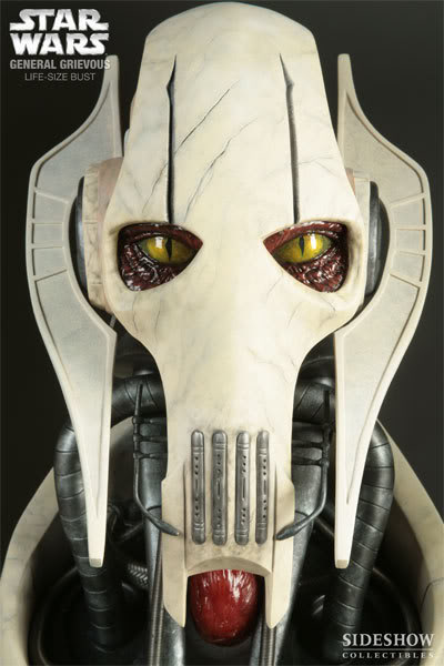 The General Grievous Life-Size Bust 2945_press05-001