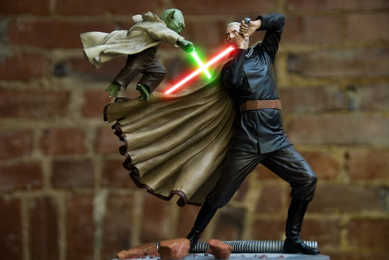 Diorama Yoda vs Count Dooku ! - Page 8 3341632859_4a7ff9870a_b