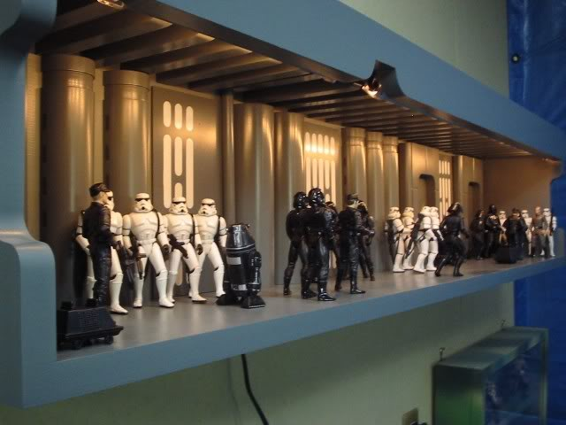 Death Star briefing room custom by Rodger Smith DHS1