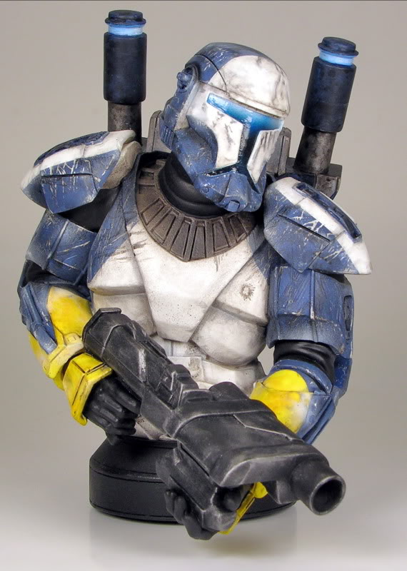 Republic Commando Mini Bust Scorch1