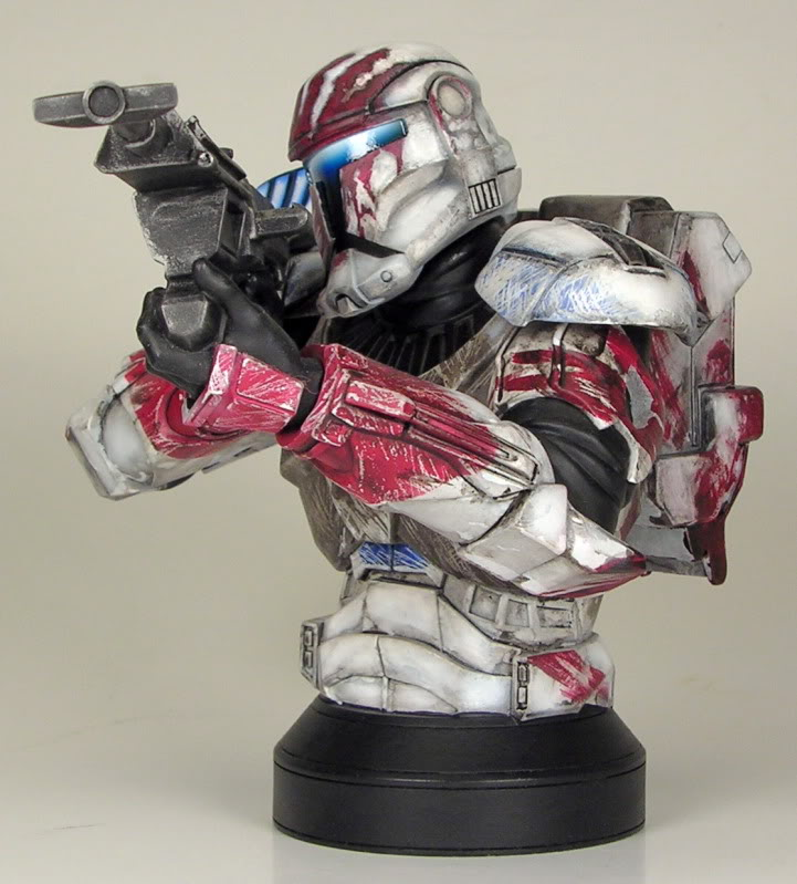 Republic Commando Mini Bust Sev3