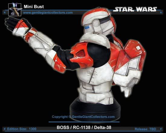 Republic Commando Mini Bust Boss4