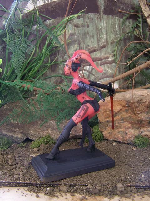 Mandalorian Female statue by David Johnson Custom_Darth_Talon_statue_by_spectr