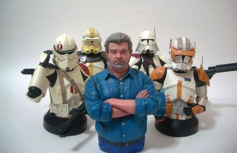 George Lucas - Mini Bust Da79_3