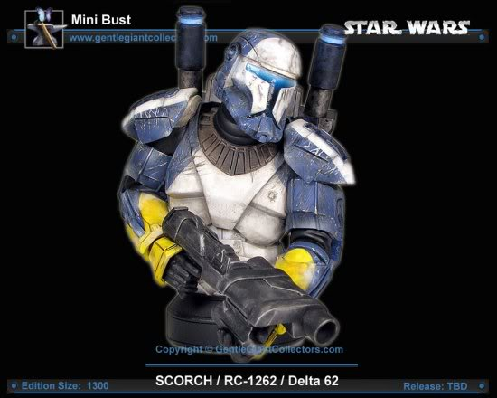 Republic Commando Mini Bust Scorch1-1