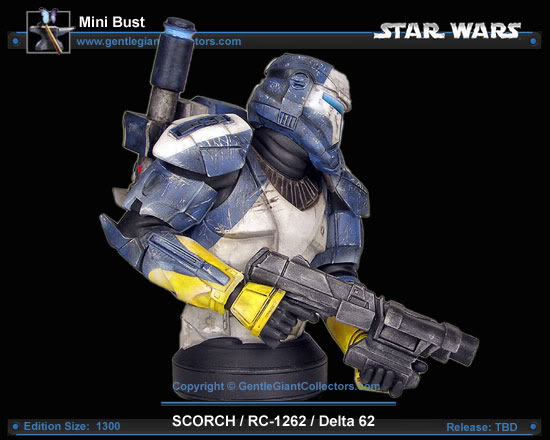 Republic Commando Mini Bust Scorch3smaller