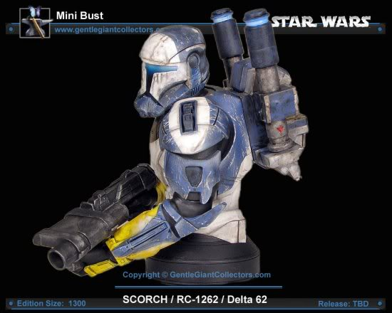 Republic Commando Mini Bust Scorch4