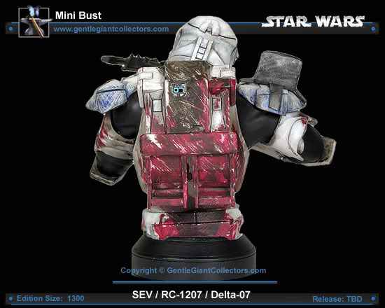 Republic Commando Mini Bust Sev2smaller