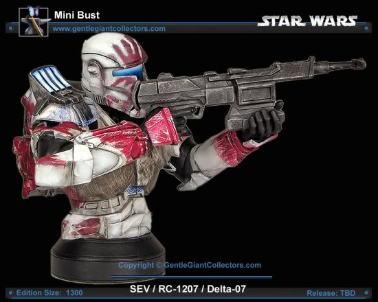 Republic Commando Mini Bust Sev3-1