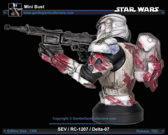 Republic Commando Mini Bust Sev4