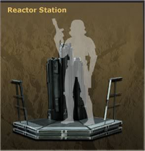 Reactor Station Environnement 12 inch Figure Reactor
