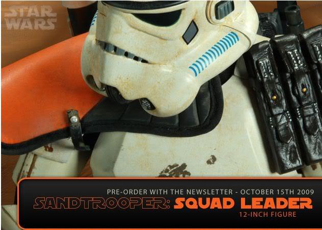 Sandtrooper Squad Leader 12 Inch figure Sandsquad