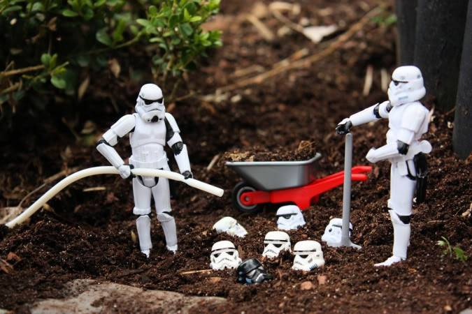 La vie des Stormtroopers par Stéfan L4pe9