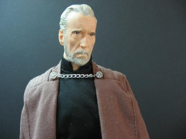 "Count Dooku Custom 12"" IMG_1498"